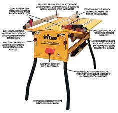 triton rta300 precision router table instructions