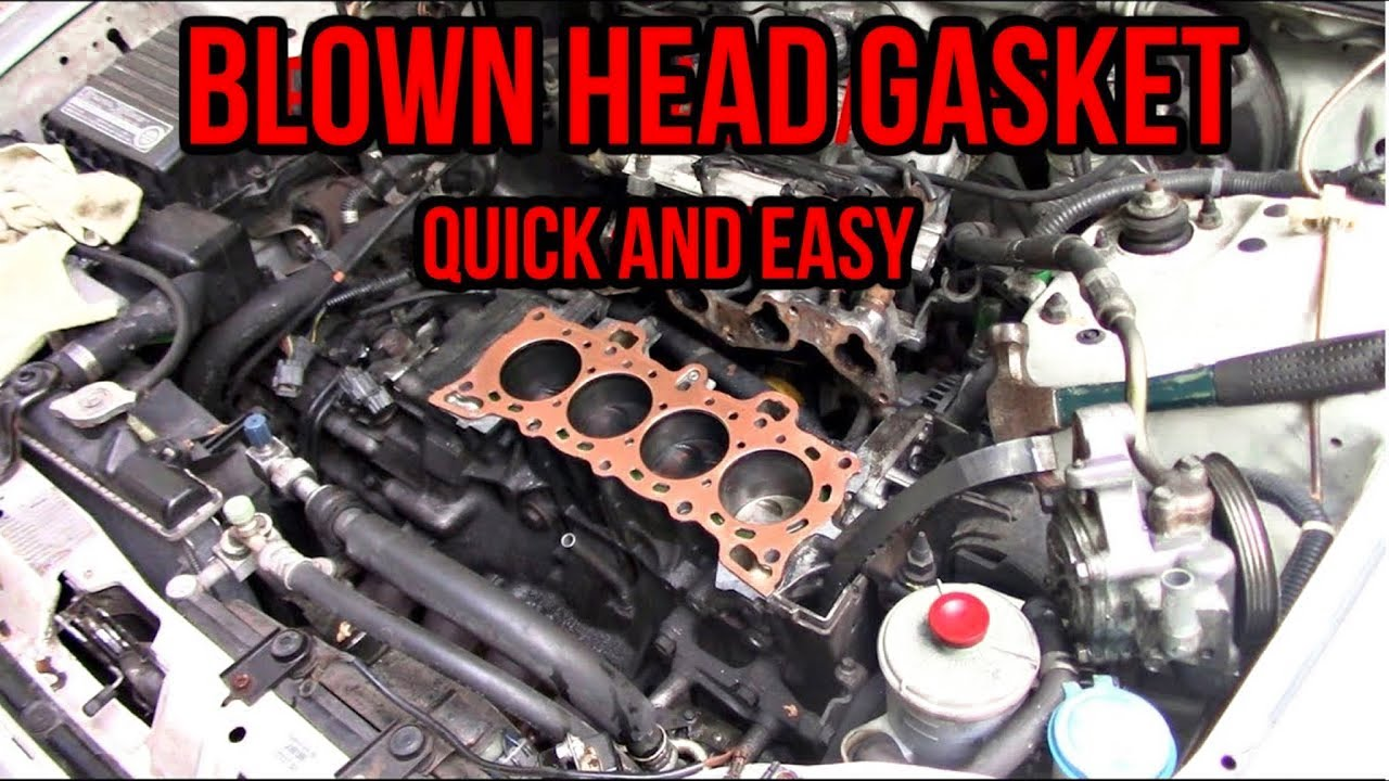 2003 honda civic head gasket replacement instructions