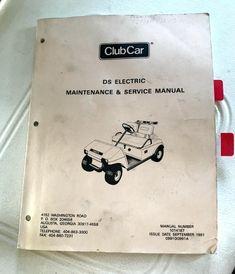 2007 club car precedent service manual