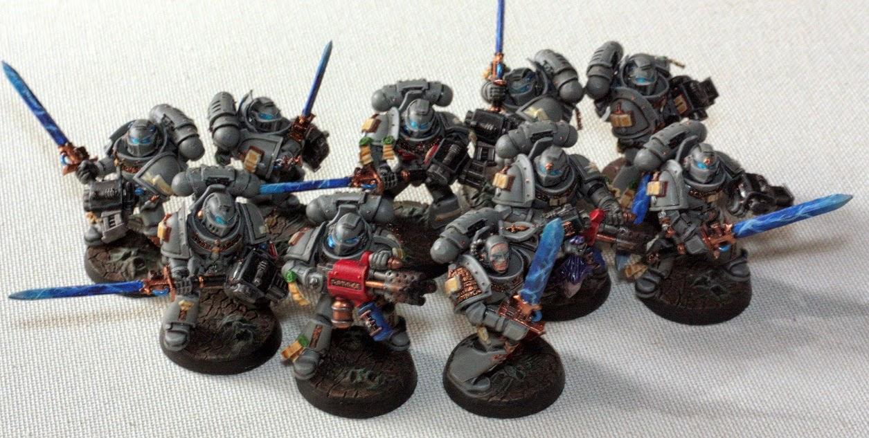 grey knights strike squad instructions