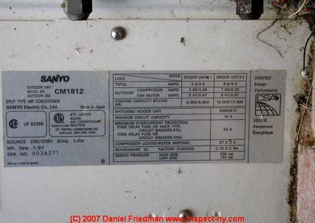 sunair portable air conditioner ackpsa9 manual