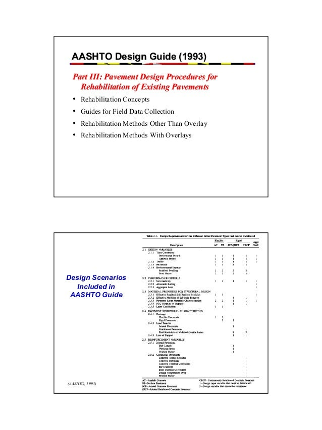 Aashto 1993 pavement design guide pdf