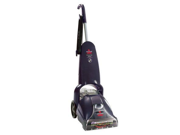 Bissell upright carpet cleaner manual