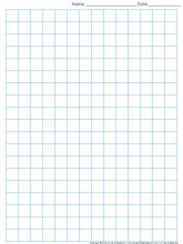 1 inch grid paper d