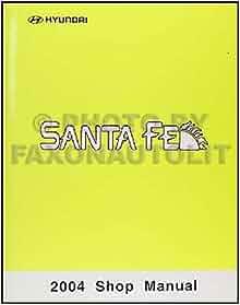 2004 hyundai santa fe repair manual
