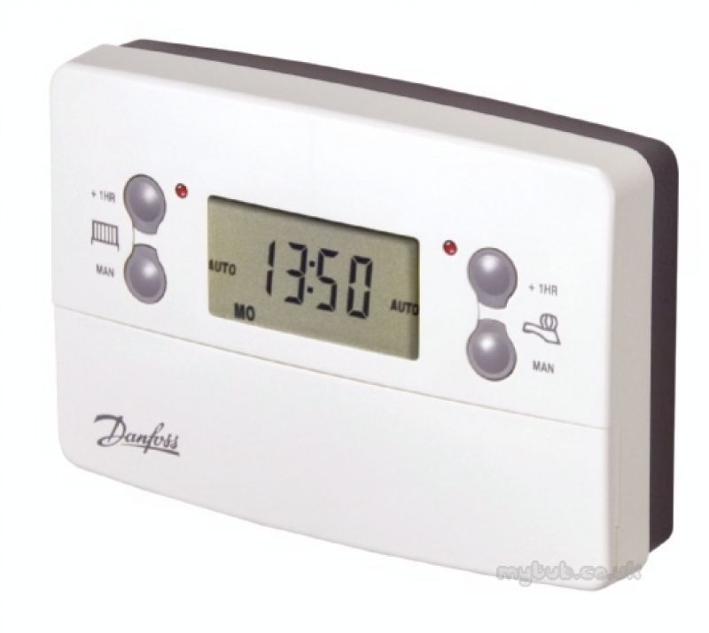 danfoss central heating thermostat instructions