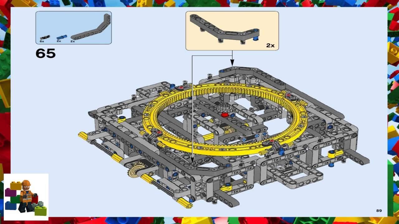 lego technic instructions 42055