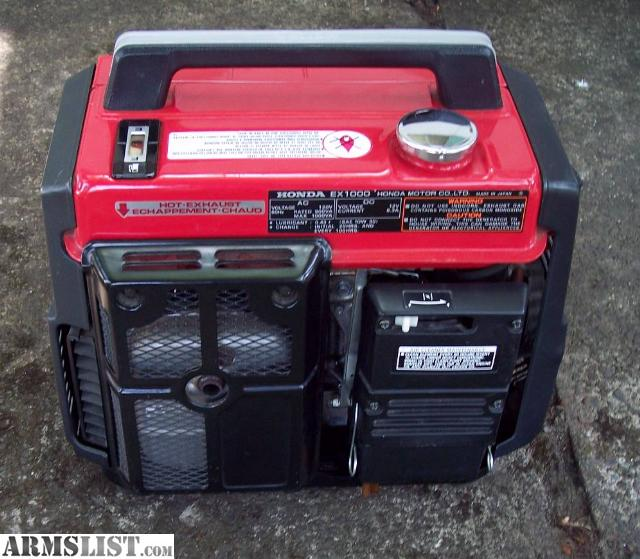 honda ex 1000 watt generator manual