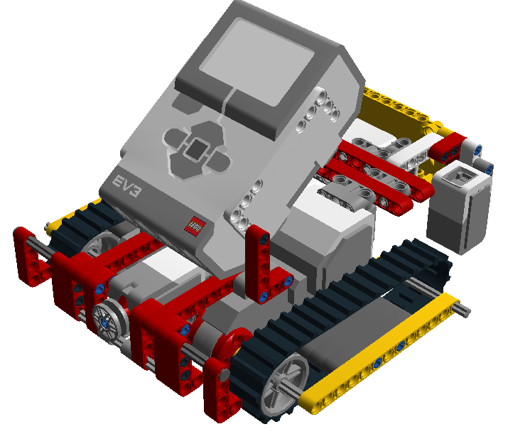 ev3 tripod model building instruction