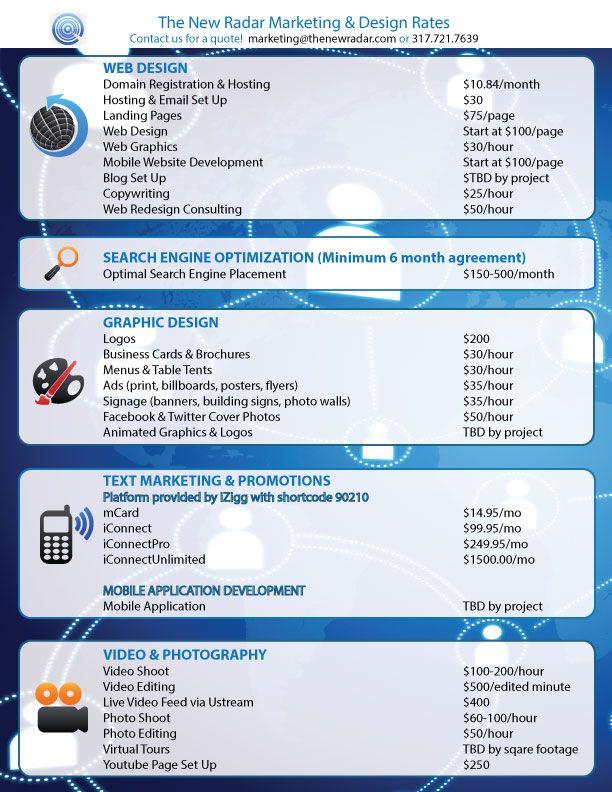 Graphic design australia price guide