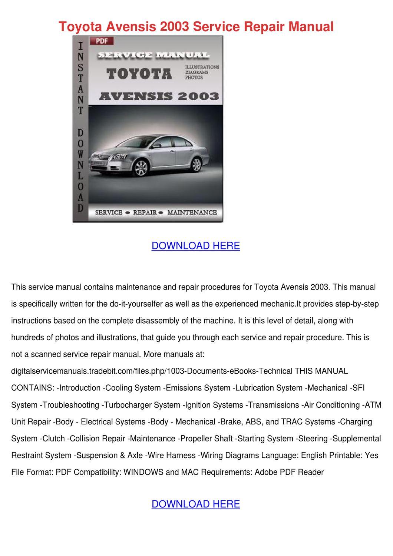 toyota iq service manual pdf