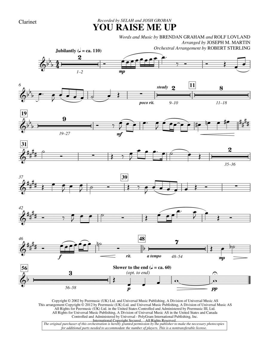You raise me up violin pdf