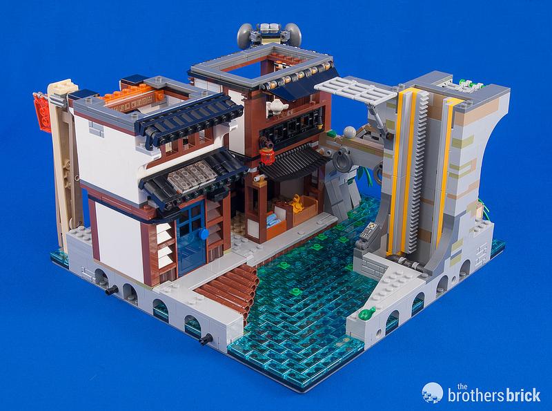 Lego ninjago city instructions