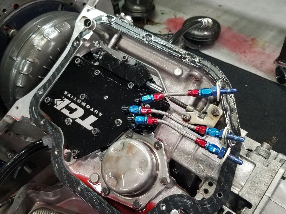 Turbo 400 full manual valve body