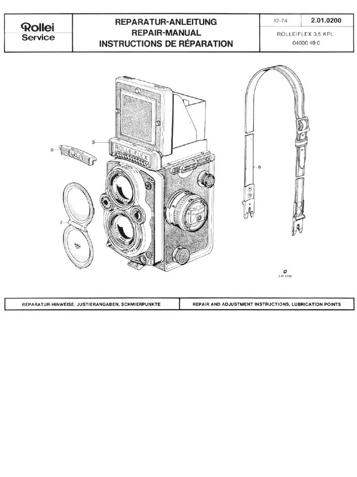 rolleiflex 3.5 e manual