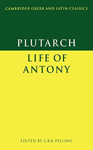 Plutarch life of antony pdf