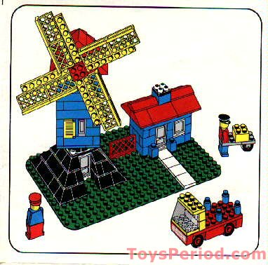 lego windmill building instructions