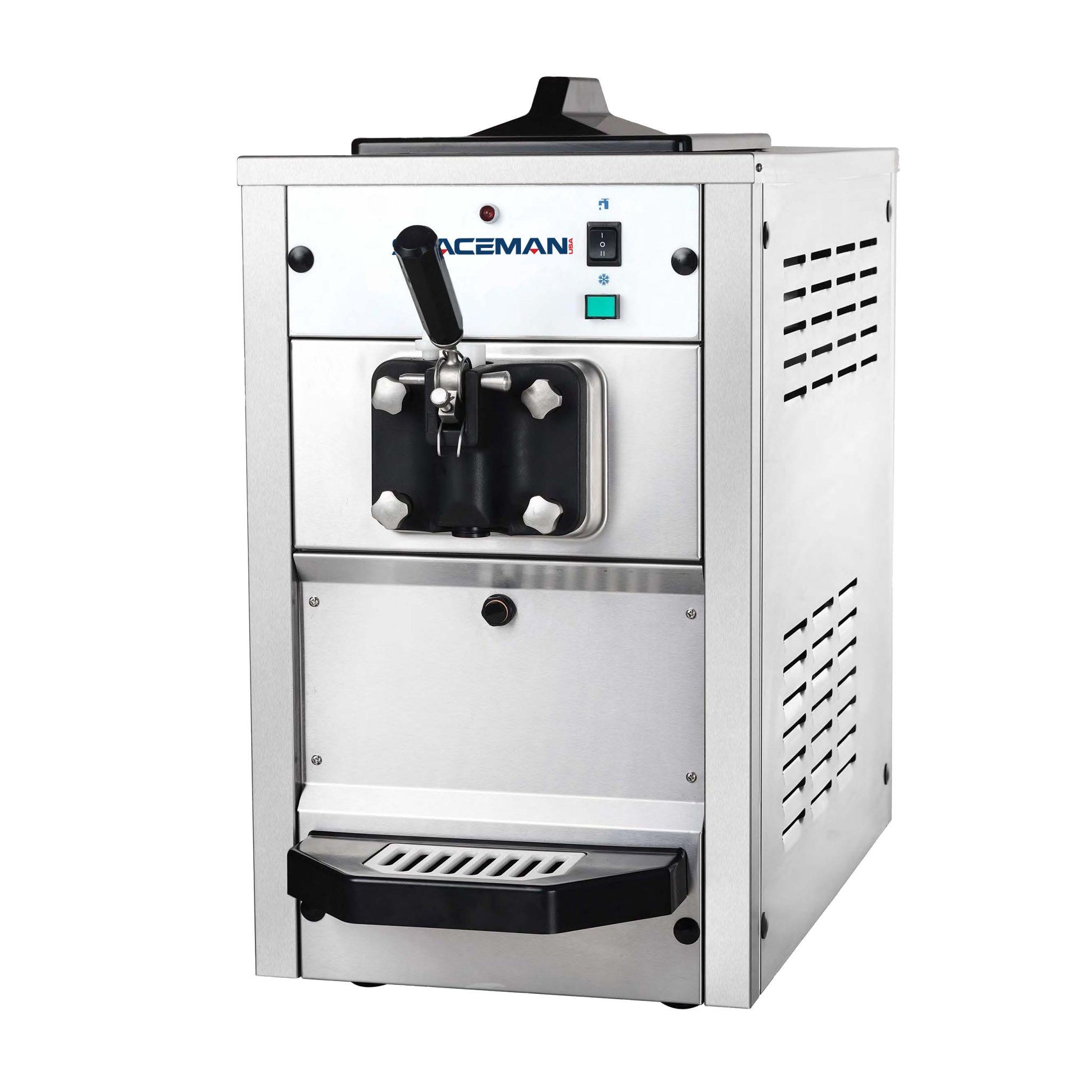 spaceman ice cream machine manual