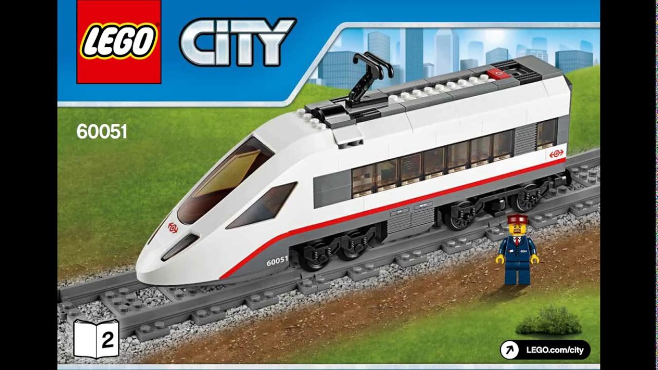 Lego high speed train instructions