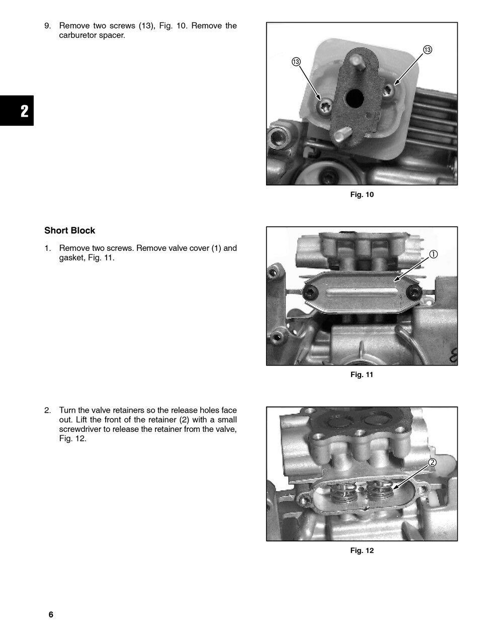 Briggs and stratton 550ex manual