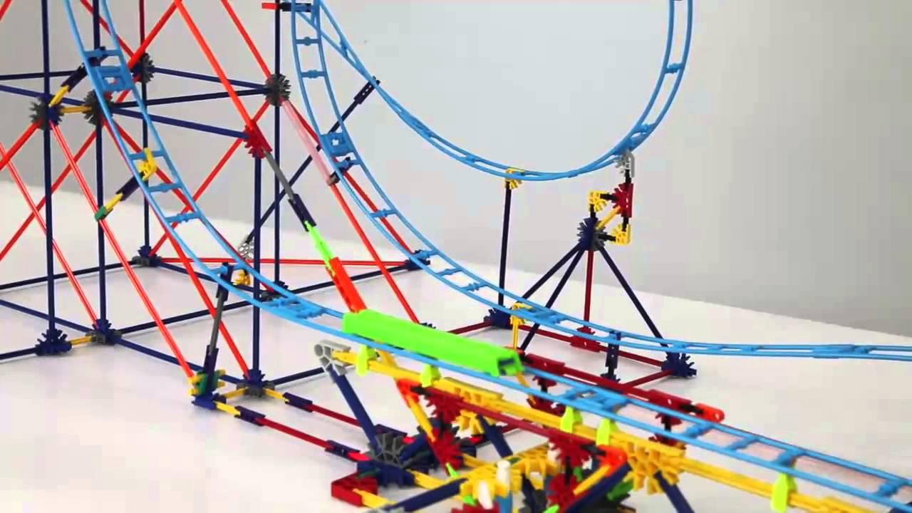 knex clockwork roller coaster instructions