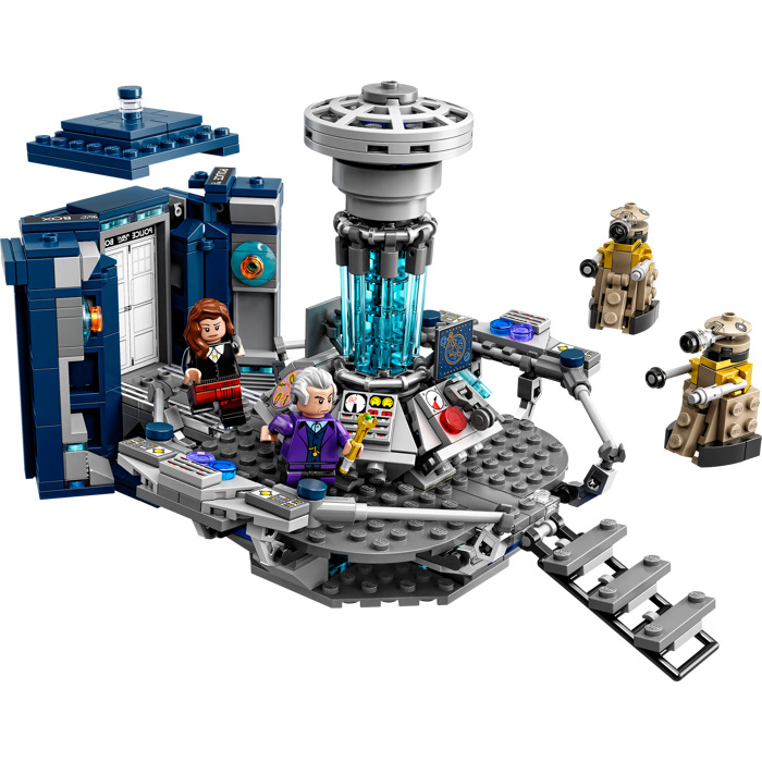 doctor who lego set instructions