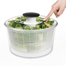 oxo salad spinner instructions cleaning