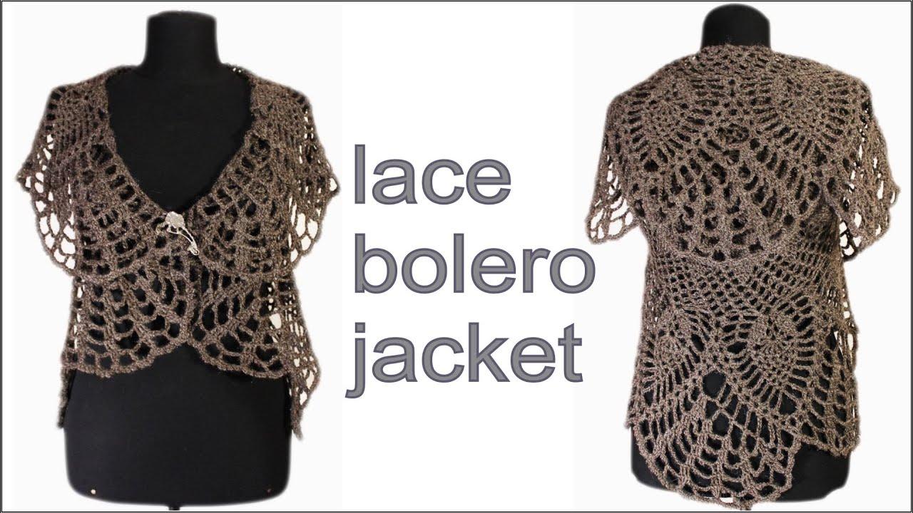 crochet bolero pattern instructions