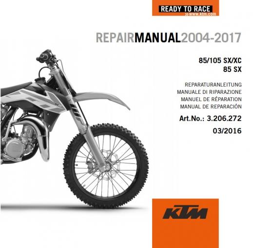 2015 ktm 85 sx service manual