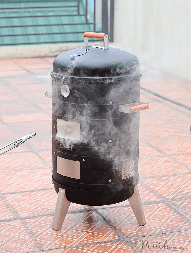 Meco charcoal water smoker manual