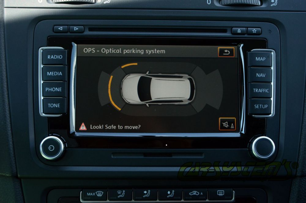 Vw park assist instructions