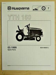 husqvarna lawn tractor parts manual
