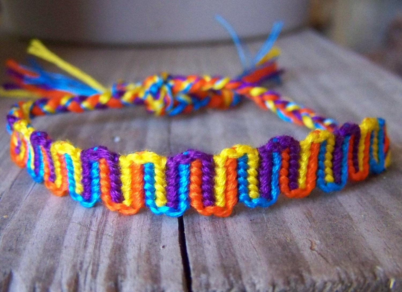 free patterns friendship bracelets instructions