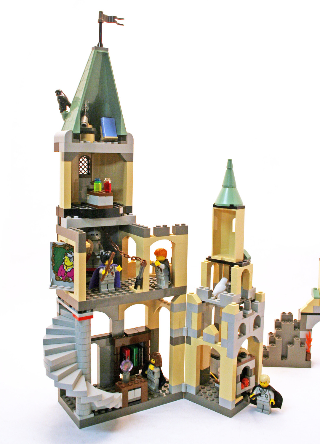 lego hogwarts castle instructions 4709