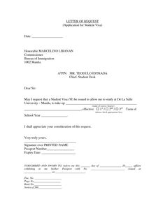 Withdraw visa application letter sample