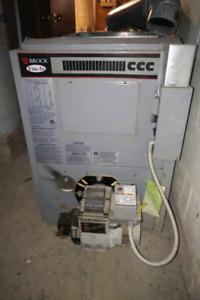brock elite air oil furnace manual