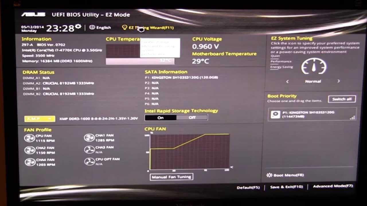 Asus uefi bios utility manual