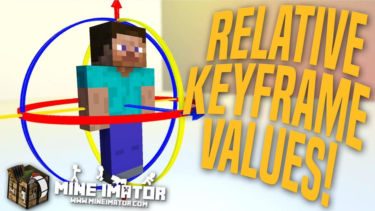 Mine imator how to add keyframe