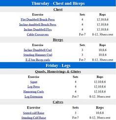 Fst 7 workout routine pdf