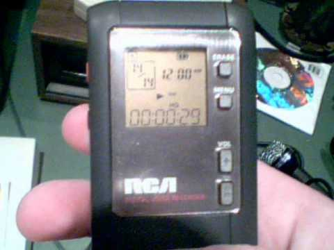 rca digital voice recorder rp5012b manual