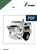 Schwing p88 concrete pump manual