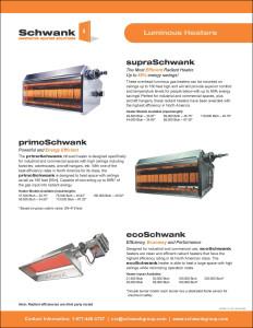 Schwank tube heater installation manual