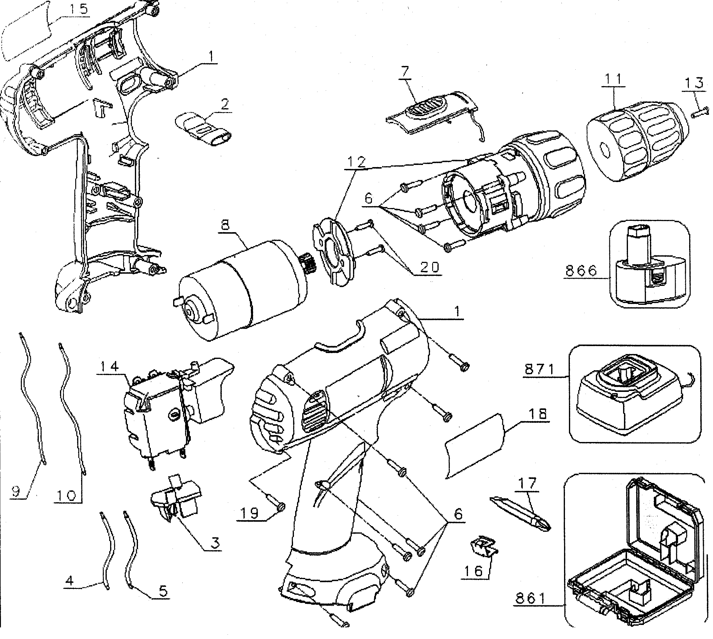 dewalt dcd771 xe repair manual