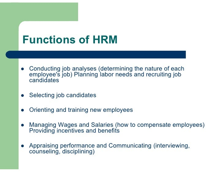 Employee benefits and services in hrm pdf