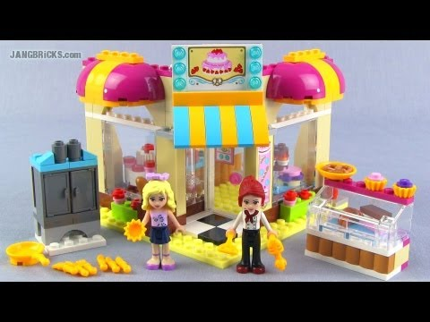 lego friends bakery instructions