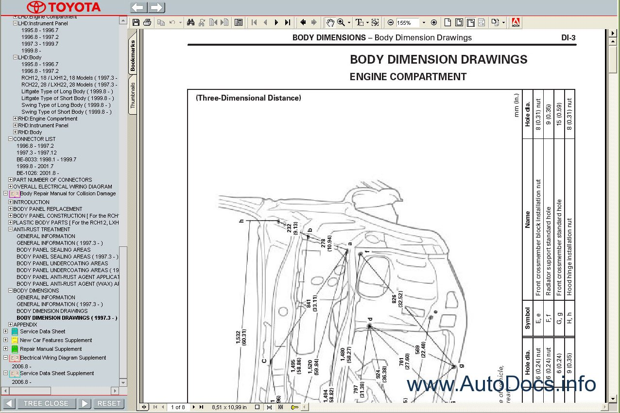Toyota hiace 1989 2004 service manual