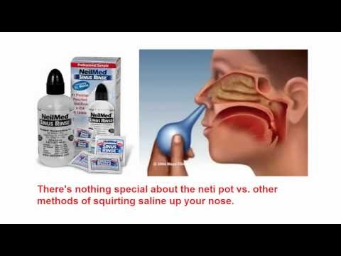 Neti pot use instructions
