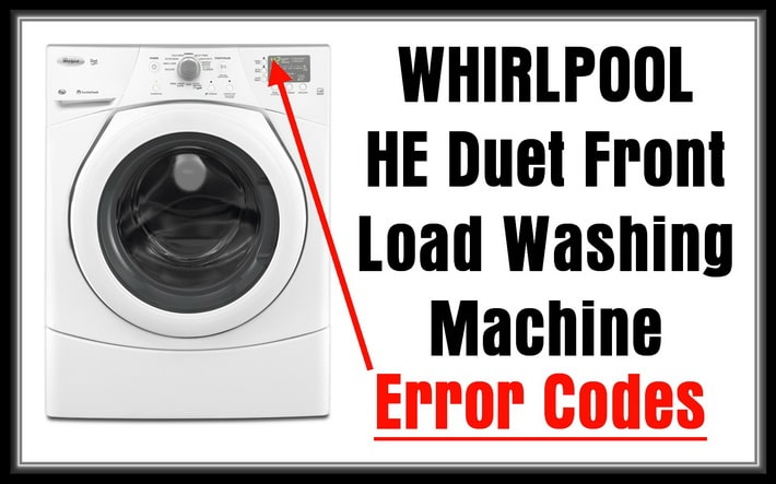 whirlpool duet he washer manual