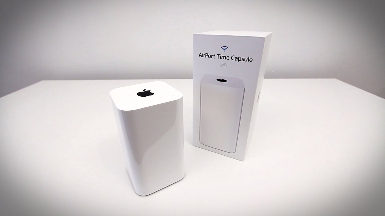 airport time capsule 3tb manual