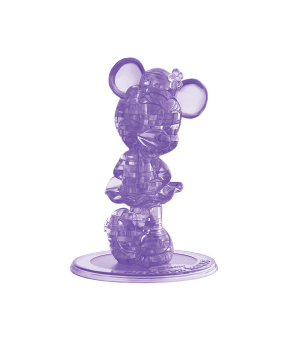 minnie mouse 3d crystal puzzle instructions